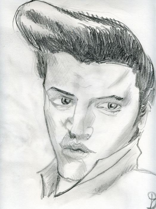 Elvis Presley by sillytoto